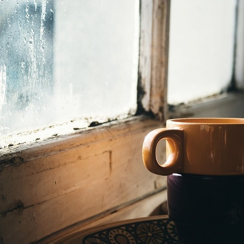 Morning Coffee & The Rain