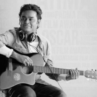 Just A.R. Rahman and his instruments...