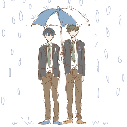 swimming - a makoharu mix