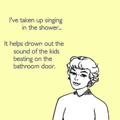 belt it out to the tiles; songs to sing in the shower