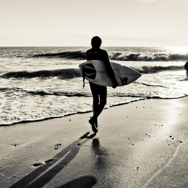 You can't stop the waves, but you can learn to surf