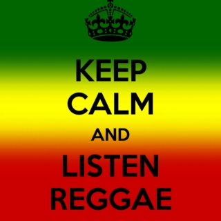 keep calm and listen REGGAE