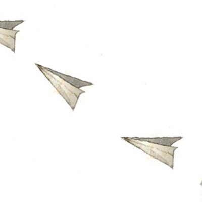 And our paper airplanes flew over oceans