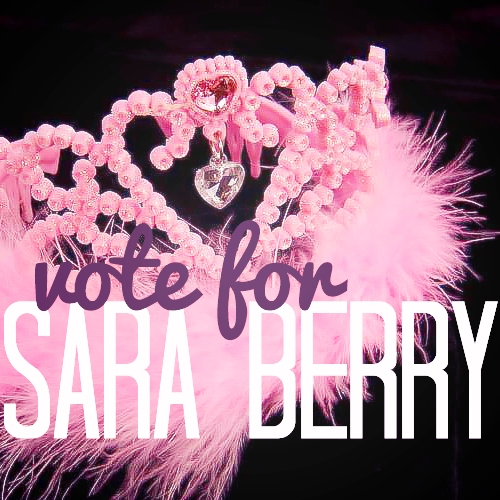 vote for sara berry