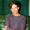 louis in sweaters