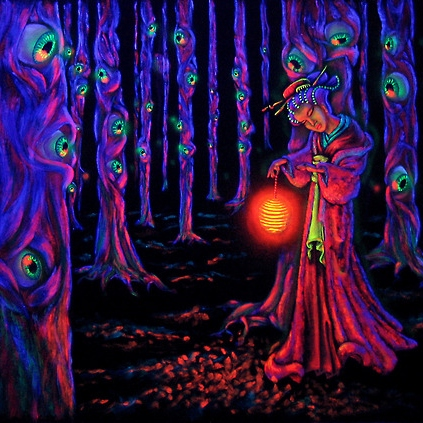 A Trip Through the Violet Forest