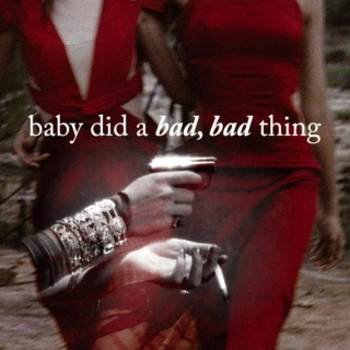 baby did a bad, bad thing