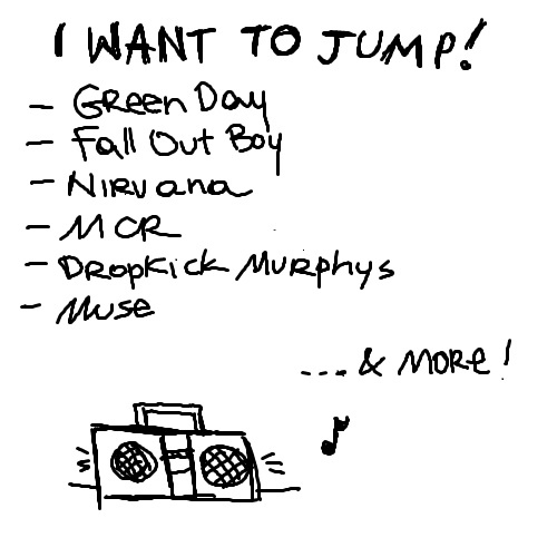 I want to jump!