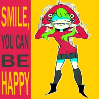 // you can be happy //