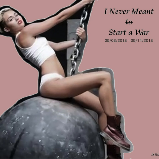I Never Meant to Start a War