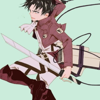 a very serious captain levi mix
