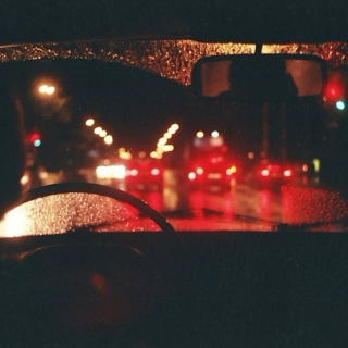 late night driving (✿◠‿◠)