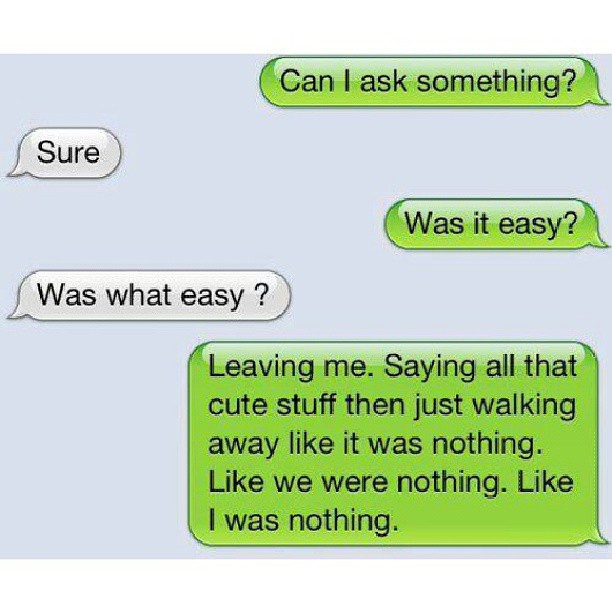 Getting Over An Ex