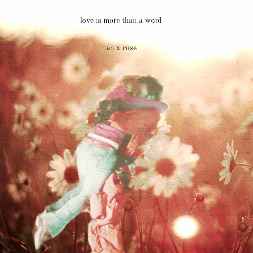 love is more than a word