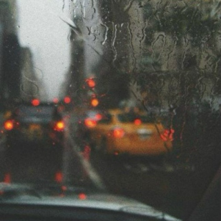 rainy car ride