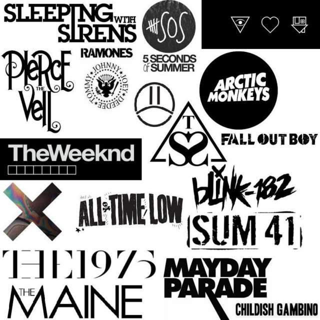 Mixtape of Her Favourite Bands❂❂
