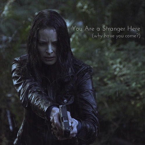 You Are a Stranger Here (why have you come?)