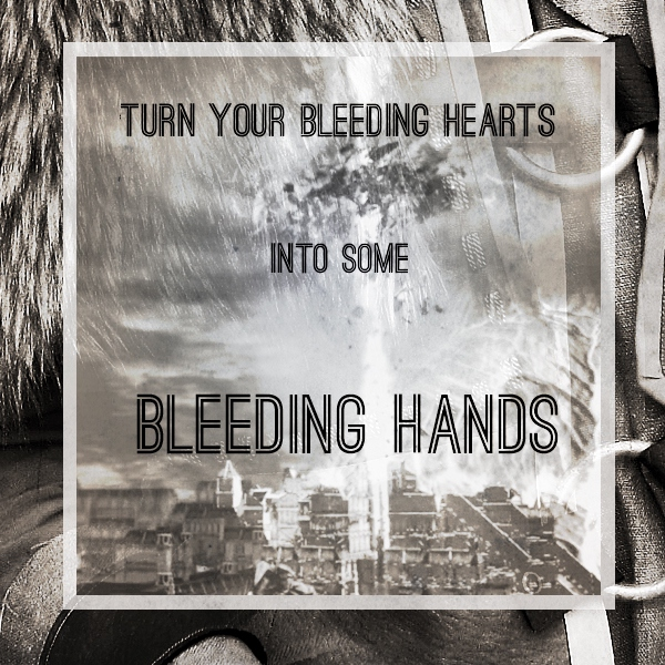bleeding hands