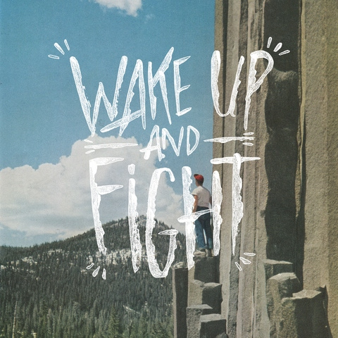 wake up and fight!