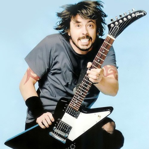 I don't have a title, so here's a Grohl for you