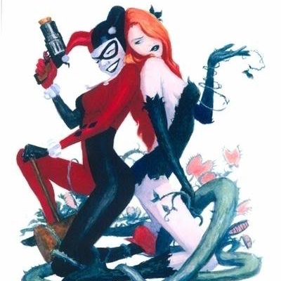 I wanna be her best friend, yeah (A Harley and Ivy FST)