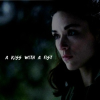 a kiss with a fist