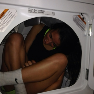 There's a Girl in my Dryer