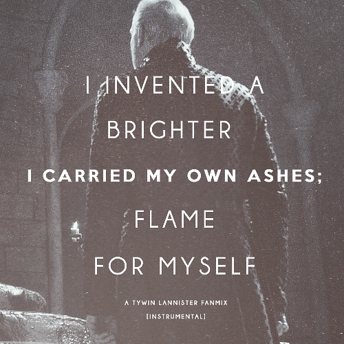 I carried my own ashes.