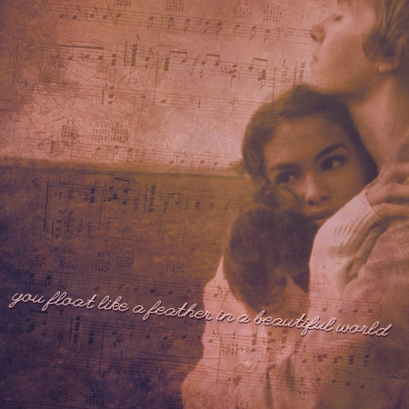 You Float Like A Feather In A Beautiful World [a Grace Violet Blood fanmix]