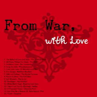 From War with Love