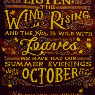 autumn will soon be upon us