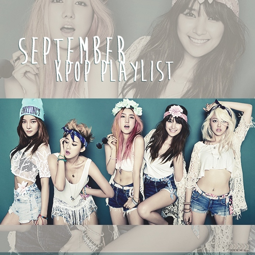 september kpop playlist ❤