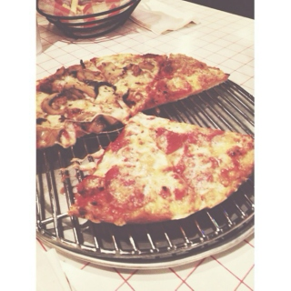 pizza can't break your heart