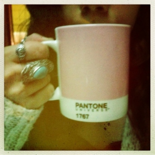 Knit sweaters and cups of tea.