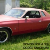 Songs for a '78 Dodge Magnum
