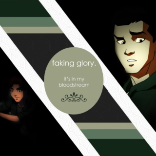 faking glory.