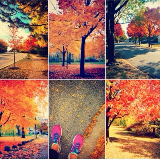 Leaves are fallin' and the air is colder.