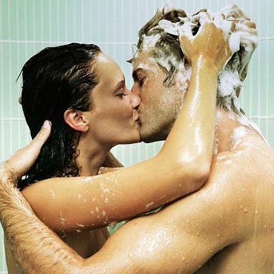 Shower with Kendall