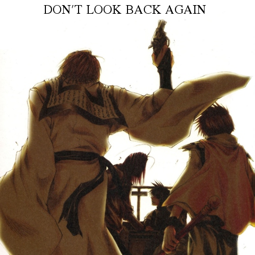 DON'T LOOK BACK AGAIN