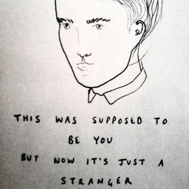 now you're just a stranger
