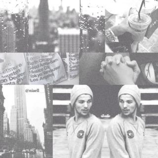 new york with louis ❀