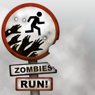 Running from the Zombies