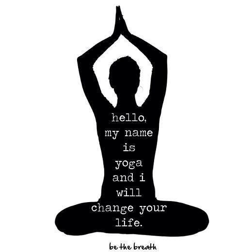 Get on your yoga mat!