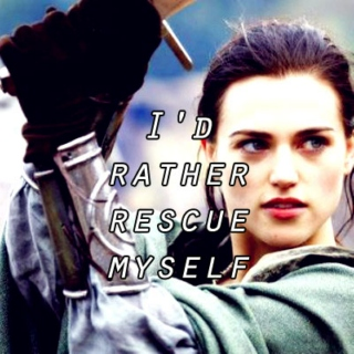 i'd rather rescue myself