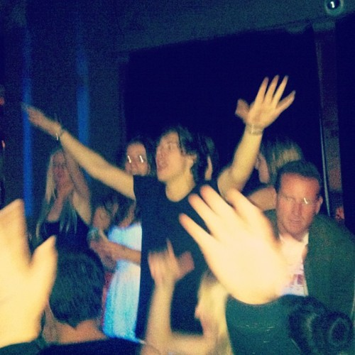 partying with harry