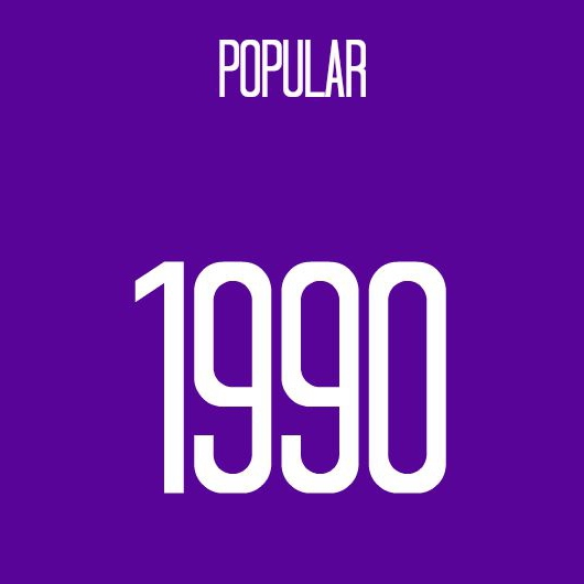 8tracks radio | 1990 Popular - Top 20 (19 songs) | free and