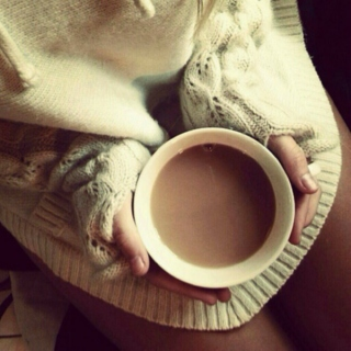 cold coffee and sweaters