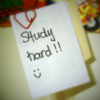 Study hard and relax