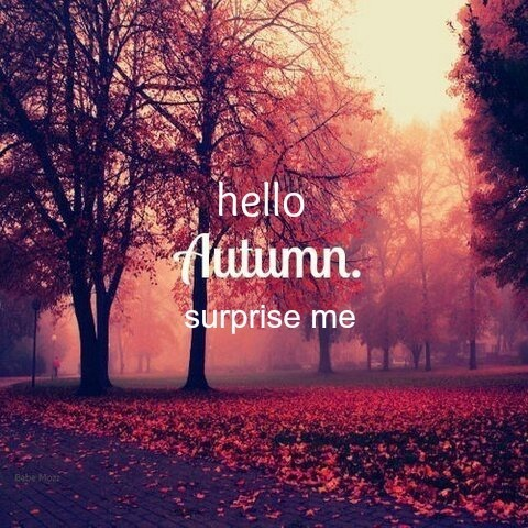 Life starts all over again when it gets crisp in the fall.
