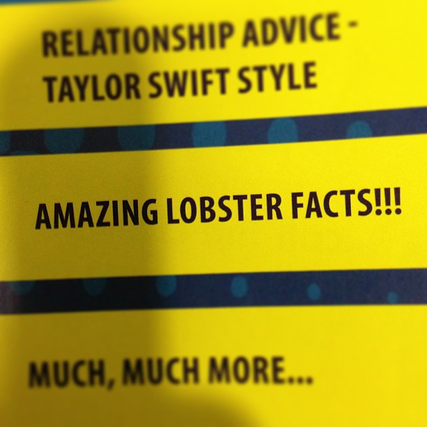 Amazing lobster facts!